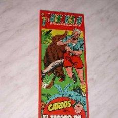 Tebeos: CARLOS. TESORO DE LOS DINKAS. SUPLEMENTO AVENTURAS,1261. AVENTURAS 29. MACABICH, CORTIELLA, 1955. ++. Lote 53992202