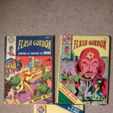 Tebeos: FLASH GORDON - POCKET DE ASES BRUGUERA - LOTE 3 TEBEOS - 1983. Lote 54017419
