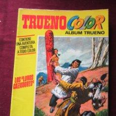 Tebeos: TRUENO COLOR EXTRA PRIMERA ÉPOCA Nº 14 ¡LOS LOBOS CAZADORES! CAPITÁN TRUENO TEBENI BRUGUERA 1971. Lote 271595553