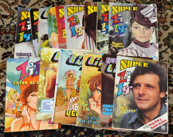 LOTE DE 15 SUPER LILY, ENTRE ELLOS VARIOS ESPECIALES... ED. BRUGUERA (Tebeos y Comics - Bruguera - Lily)
