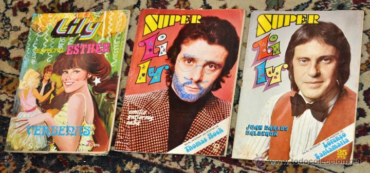 Tebeos: LOTE DE 15 SUPER LILY, ENTRE ELLOS VARIOS ESPECIALES... ED. BRUGUERA - Foto 3 - 247916565