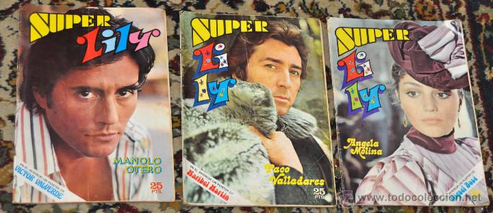 Tebeos: LOTE DE 15 SUPER LILY, ENTRE ELLOS VARIOS ESPECIALES... ED. BRUGUERA - Foto 6 - 247916565
