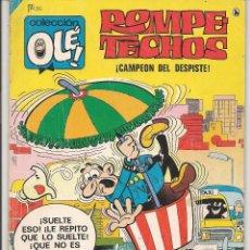 Tebeos: OLÉ!. ROMPETECHOS. Nº 36. ¡ CAMPEÓN DEL DESPISTE !. BRUGUERA. 1986. (C/A44). Lote 54140270
