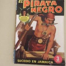 Tebeos: EL PIRATA NEGRO Nº 3 SUCEDIO EN JAMAICA BRUGUERA. Lote 54159144