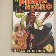 Tebeos: EL PIRATA NEGRO Nº 4 BRAZO DE HIERRO BRUGUERA. Lote 54159174