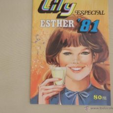 Tebeos: LILY ESPECIAL ESTHER Nº 15 ESTHER 81. Lote 54159463