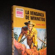Tebeos: LA VENGANZA DE WINNETOU / KARL MAY. Lote 54187126