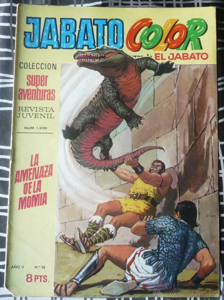 EL JABATO Nº 28. PRIMERA EPOCA (Tebeos y Comics - Bruguera - Jabato)
