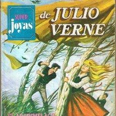 Tebeos: CÓMIC SUPER JOYAS DE JULIO VERNE Nº 10 1ª EDICIÓN 1978. Lote 54215229