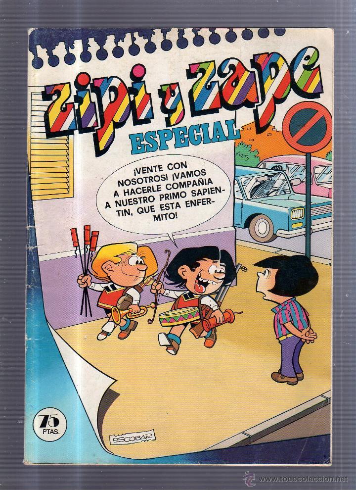 ZIPI Y ZAPE. ESPECIAL. Nº 36. EDITORIAL BRUGUERA (Tebeos y Comics - Bruguera - Otros)