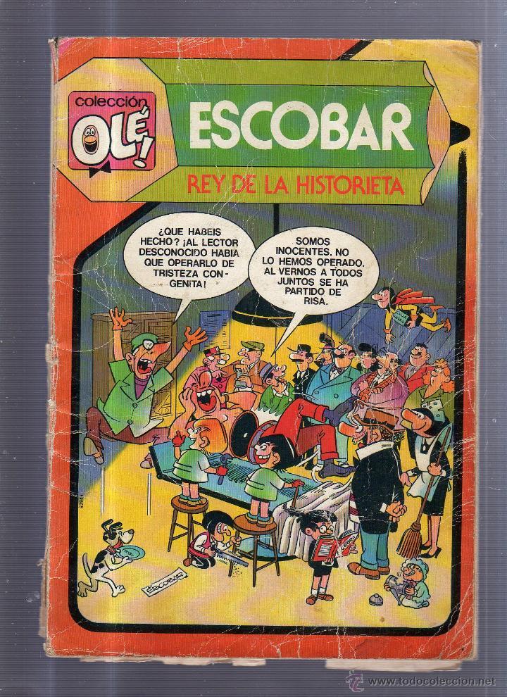COLECCION OLE!. ESCOBAR. REY DE LA HISTORIETA. Nº 299 (Tebeos y Comics - Bruguera - Ole)