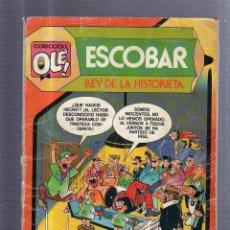 Tebeos: COLECCION OLE!. ESCOBAR. REY DE LA HISTORIETA. Nº 299. Lote 54223116