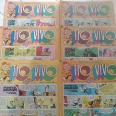 Tebeos: 6 TEBEOS-COMICS TIO VIVO N'691-693-708-712-864.. Lote 54223703