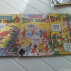 Tebeos: 3 TEBEOS-COMICS SUPER TIO VIVO EXTRAS AÑO 1975 Y 1977. Lote 54223741