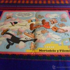 Tebeos: REVISTA JUVENIL MORTADELO Nº 100 CON PÓSTER Y CON CORSARIO DE HIERRO. BRUGUERA 1972. 16 PTS. RARO.. Lote 43630189