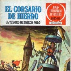 Livros de Banda Desenhada: EL CORSARIO DE HIERRO - Nº 6 - EL TESORO DE MARCO POLO - JOYAS LITERARIAS JUVENILES - BRUGUERA.. Lote 54249652