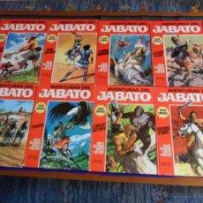Tebeos: JABATO COLOR EXTRA ALBUM ROJO COMPLETA 1 2 3 4 5 6 7 8. BRUGUERA 1970. MUY DIFÍCIL!!!!!. Lote 54318382