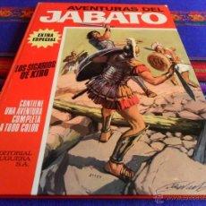 Tebeos: JABATO COLOR EXTRA ALBUM ROJO Nº 5 LOS SICARIOS DE KIRO. BRUGUERA 1970. MBE.. Lote 54318474