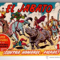 Tebeos: Nº 132 EL JABATO, CUADERNOS ORIGINALES. ED. BRUGUERA,S.A. 1958-1966.. Lote 54327723