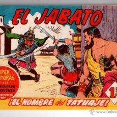 Tebeos: Nº 134 EL JABATO, CUADERNOS ORIGINALES. ED. BRUGUERA,S.A. 1958-1966.. Lote 54327764