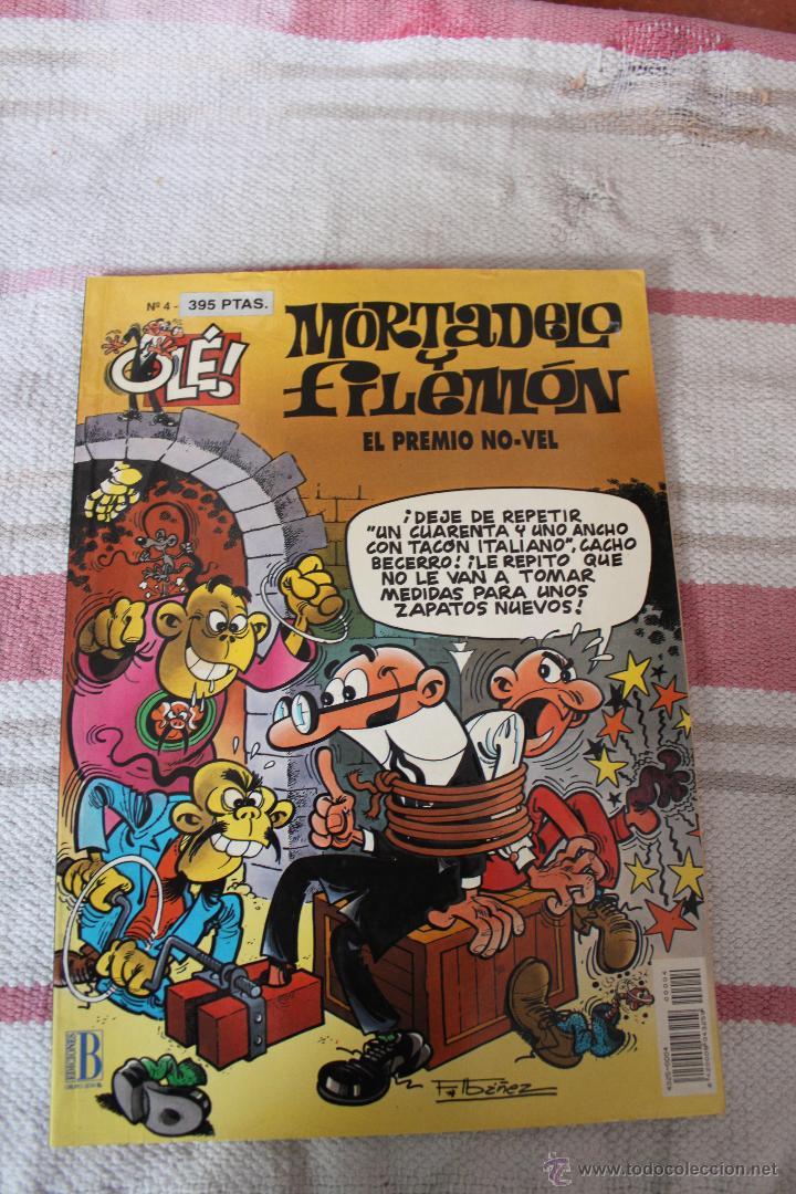 OLE Nº 4: MORTADELO Y FILEMON : EL PREMIO NO-VEL; PRIMERA EDICION (Tebeos y Comics - Bruguera - Ole)
