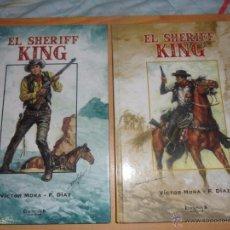 Tebeos: DOS PRIMEROS TOMOS DE REEDICION DEL SHERIFF KING.. Lote 54354571