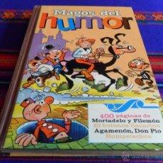 Tebeos: MAGOS DEL HUMOR I 1. BRUGUERA 1971. AGAMENÓN, DON PÍO, SACARINO, MOTADELO, ROMPETECHOS.. Lote 54359837