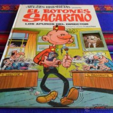 BDs: ALEGRES HISTORIETAS Nº 3 BOTONES SACARINO. BRUGUERA 1971. LOS APUROS DEL DIRECTOR. BUEN ESTADO. RARO. Lote 54359935