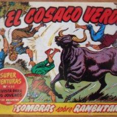 Tebeos: EL COSACO VERDE, ¡SOMBRAS SOBRE RAMBUTÁN!, REEDICIÓN BRUGUERA, 1961. Lote 54363595