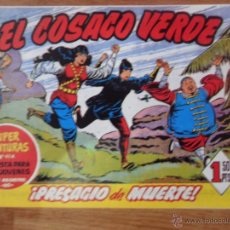 Tebeos: EL COSACO VERDE, ¡PRESAGIO DE MUERTE!, REEDICIÓN BRUGUERA, 1961. Lote 54363691