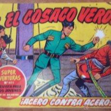 Tebeos: EL COSACO VERDE, ¡ACERO CONTRA ACERO!, REEDICIÓN BRUGUERA, 1961. Lote 54364188
