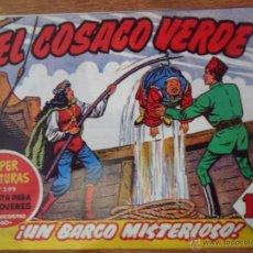 Tebeos: EL COSACO VERDE, ¡UN BARCO MISTERIOSO!, REEDICIÓN BRUGUERA, 1961. Lote 54364272