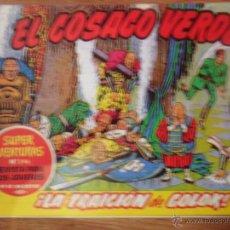 Tebeos: EL COSACO VERDE, ¡LA TRAICIÓN DE GOLOK!, REEDICIÓN BRUGUERA, 1961. Lote 54364301