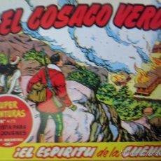 Tebeos: EL COSACO VERDE, ¡EL ESPÍRITU DE LA CUEVA!, REEDICIÓN BRUGUERA, 1961. Lote 54364340