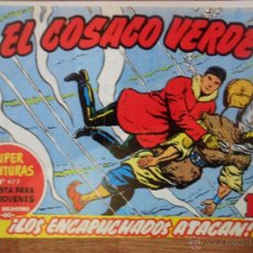 Tebeos: EL COSACO VERDE, ¡LOS ENCAPUCHADOS ATACAN!, REEDICIÓN BRUGUERA, 1961. Lote 54364394
