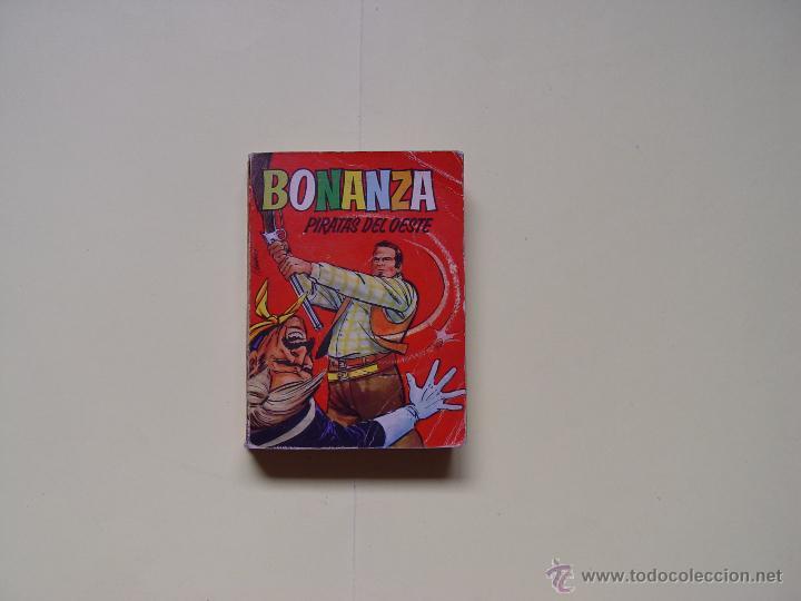 CÓMIC: BONANZA (PIRATAS DEL OESTE). Nº 13 (BRUGUERA, 1966) TELEINFANCIA ¡ORIGINAL! (Tebeos y Comics - Bruguera - Otros)