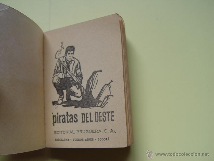 Tebeos: Cómic: BONANZA (Piratas del oeste). Nº 13 (Bruguera, 1966) TELEINFANCIA ¡Original! - Foto 4 - 54388167
