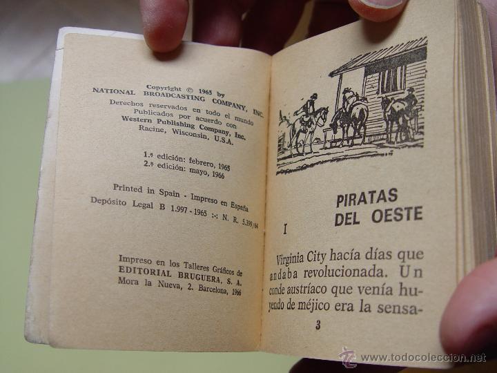 Tebeos: Cómic: BONANZA (Piratas del oeste). Nº 13 (Bruguera, 1966) TELEINFANCIA ¡Original! - Foto 5 - 54388167