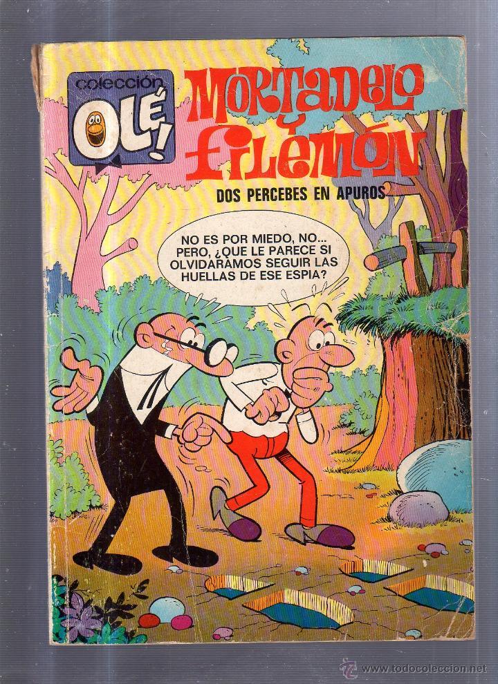 TEBEO MORTADELO Y FILEMON. Nº 79. COLECCION OLE!. DOS PERCEBES EN APUROS (Tebeos y Comics - Bruguera - Ole)