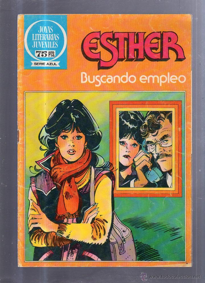 JOYAS LITERARIAS JUVENILES. Nº 71. SERIE AZUL. BUSCANDO EMPLEO (Tebeos y Comics - Bruguera - Joyas Literarias)