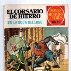 Tebeos: Nº 7 EL CORSARIO DE HIERRO, GRANDES AVENTURAS JUVENILES, ED. BRUGUERA 1971. Lote 54442394