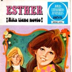 Tebeos: Nº 9 ESTHER JOYAS LITERARIAS JUVENILES, SERIE AZUL. ED. BRUGUERA 1977. Lote 54442671
