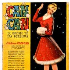 Tebeos: Nº 61 CAN CAN PUBLICACION 1958-1960. EDITORIAL EDITORIAL BRUGUERA. Lote 54446692