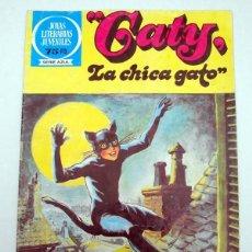 Tebeos: JOYAS LITERARIAS JUVENILES. SERIE AZUL. Nº 86. GATY. LA CHICA GATO. BRUGUERA 1º ED. 1983. Lote 54478689