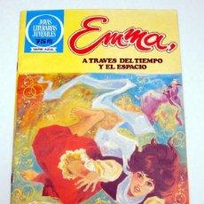 Tebeos: JOYAS LITERARIAS JUVENILES.Nº 90.EMMA, A TRAVES DEL TIEMPO Y EL ESPACIO.BRUGUERA 1 ª ED. 1983. Lote 54478718