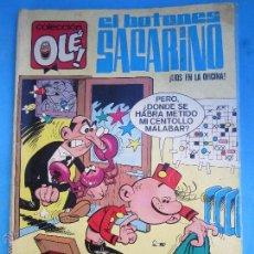 Tebeos: COLECCION OLE , NUMERO 3 EN EL LOMO - EL BOTONES SACARINO , PRIMERA EDICION 1971 BRUGUERA - IBAÑEZ. Lote 54490426