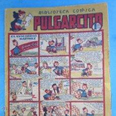 Tebeos: BIBLIOTECA COMICA PULGARCITO , NUMERO 37 - BRUGUERA . Lote 54501752