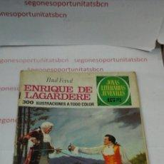 Tebeos: ENRIQUE DE LAGARDERE - PAUL FEVAL - JOYAS LITERARIAS . Lote 54542133
