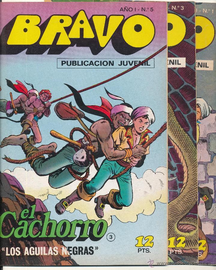 EL CACHORRO (BRAVO) COMPLETA 41 EJEMPLARES. BRUGUERA. (Tebeos y Comics - Bruguera - Bravo)