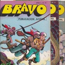 Tebeos: EL CACHORRO (BRAVO) COMPLETA 41 EJEMPLARES. BRUGUERA.. Lote 54543187
